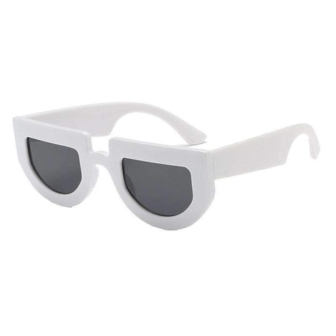 Chic Oval Shape Lens with wide Frame Sunglasses gallery 2