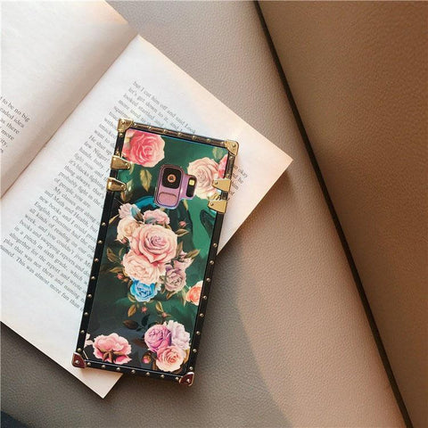 Floral Print Phone Case for Samsung with Phone Holder gallery 10