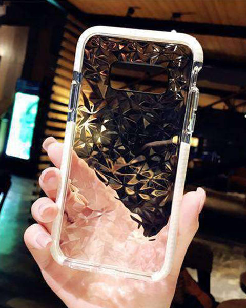 Transparent Diamond Phone Case for Samsung gallery 1