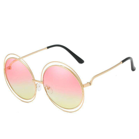 Ombre Double Frame Hollowed Sunglasses gallery 2