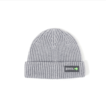 6 Colors Rib Knit Cuffed Beanie Hat With Tag gallery 7