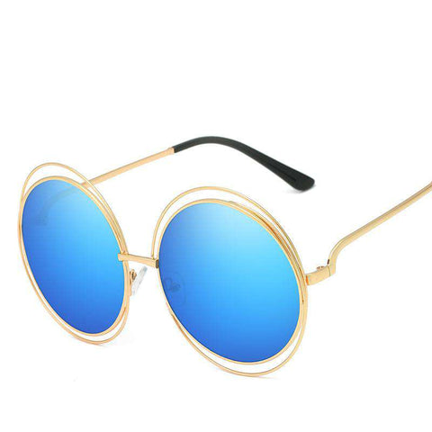 Ombre Double Frame Hollowed Sunglasses gallery 7