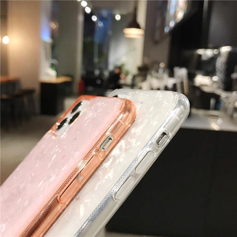 Four Colors Marble Shining Phone Case for Samsung gallery 10