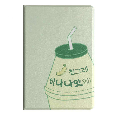 Contracted Milk Bottle Painted Apple iPad Cover Case gallery 2