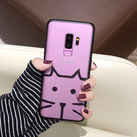 Samsung Frosted Cartoon Print Phone Case gallery 3