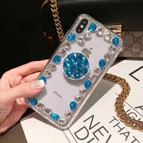 Ring Rhinestone Phone Case for Samsung with Phone Holder gallery 4