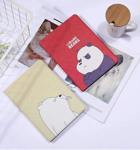 Cute Cartoon Bears Painted Apple iPad Cover Case gallery 2