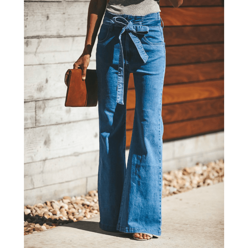 All Wrapped Up High Waist Superflex Flare Jeans