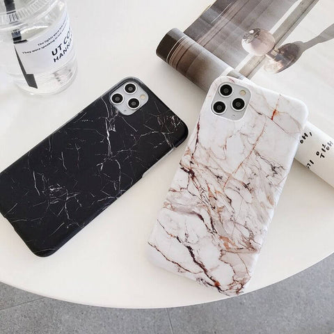 Complex and Trendy Marble Grains iPhone Case