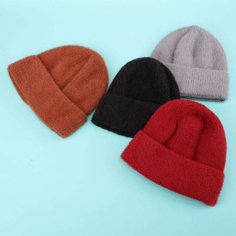 Winter Carm Woolen Knitted Hat for Men and Women gallery 2