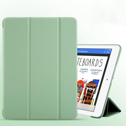 Pure Color Foldable iPad Cover Case gallery 9