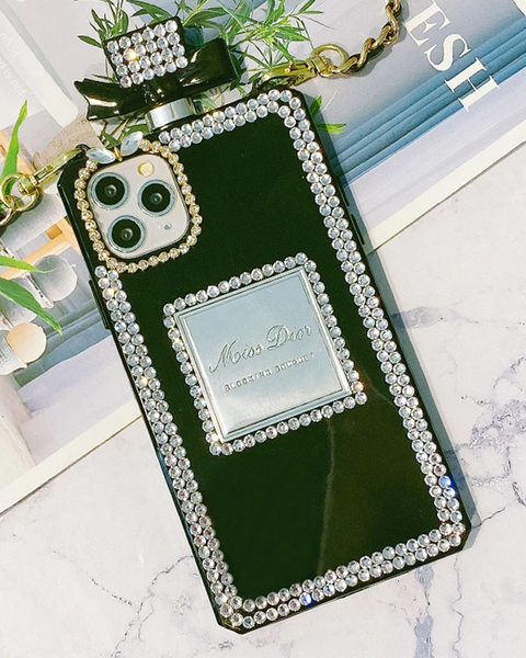 Luxury Perfume Design iPhone Case with Hand Strap gallery 1