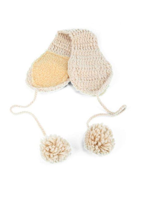 Women's Winter Cute Knitted Thick Ear Hat gallery 10