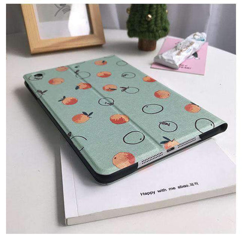 Contracted Orange Pattern Apple iPad Cover Case gallery 3