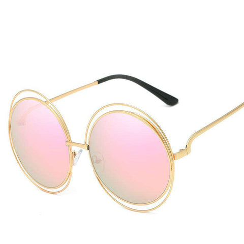 Ombre Double Frame Hollowed Sunglasses gallery 11