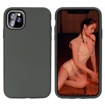 Solid Color Frosted TPU Material Phone Cases For iPhone11 Pro Max