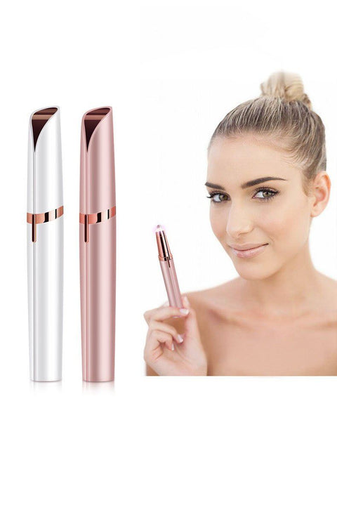 Eyebrow Hair Trimmers with LED Light gallery 2