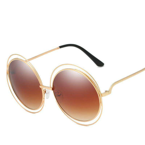 Ombre Double Frame Hollowed Sunglasses gallery 6