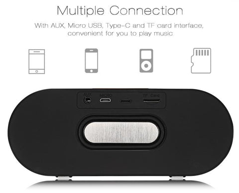 Bluetooth Speaker Portable Wireless Player Dual Driver gallery 10