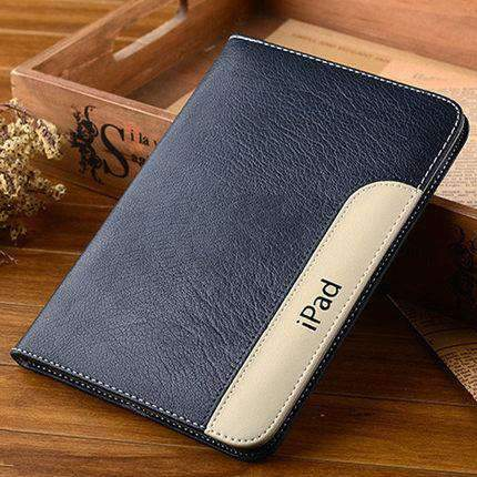 Anti-Fall Leather Apple iPad Cover Case gallery 1