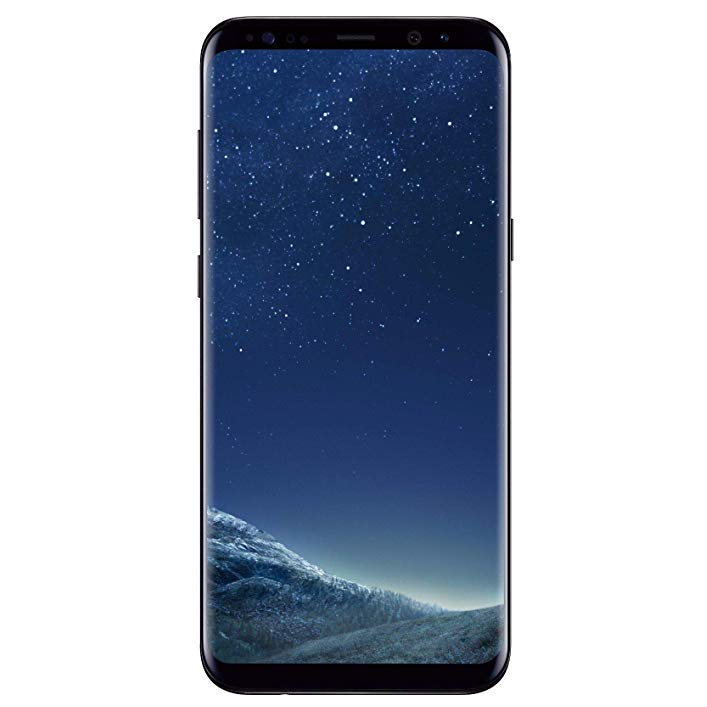Samsung Galaxy S8+ SM-G955U 64GB Midnight Black T-Mobile (Renewed)