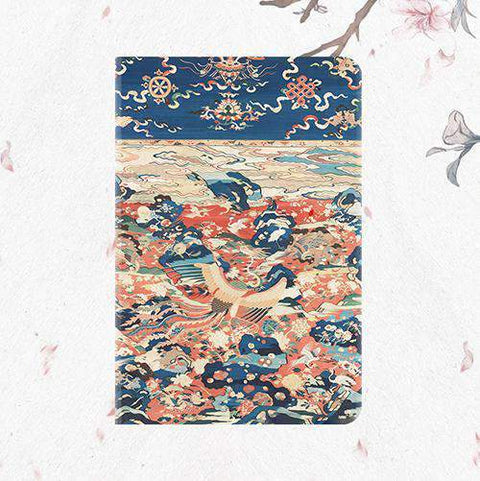 Birds & Phoenix Pattern Frosted Apple iPad Cover Case gallery 1
