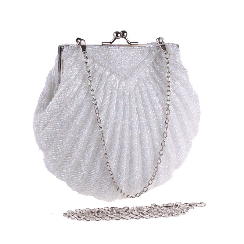Sparkling Shell Evening Bag Clutch Purses