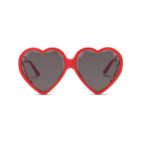 Candy Color Ombre Heart Shape Lens Sunglasses gallery 3