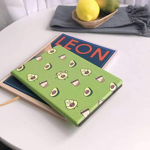 Cute Avocado Painted Apple iPad Cover Case gallery 2