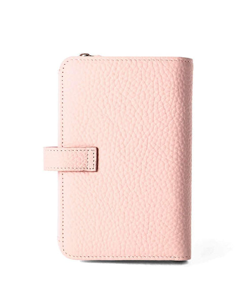 Cow Leather Thin Version Short Sized Pink Wallet gallery 2