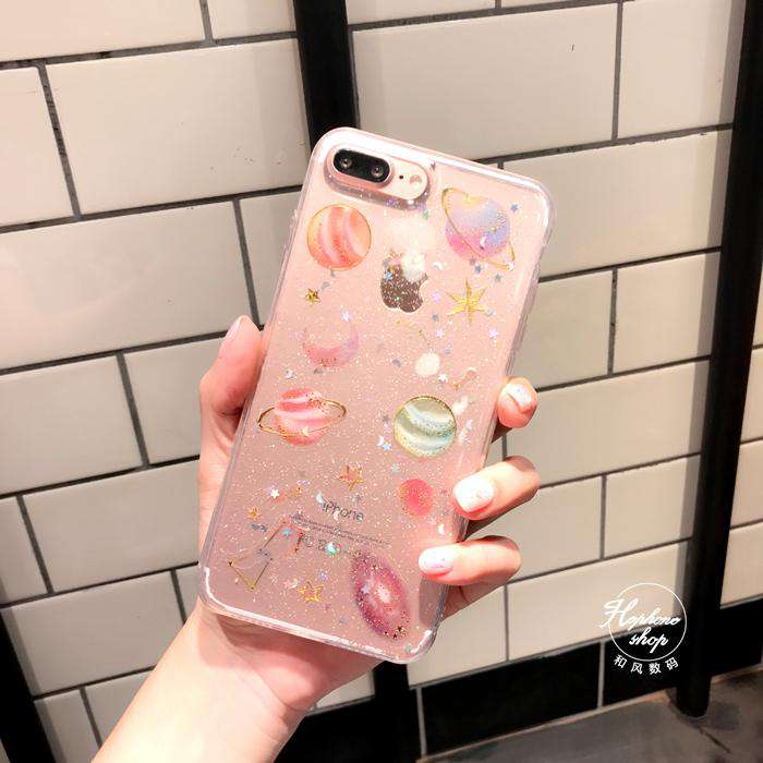 Silicone Star Phone Case for Samsung