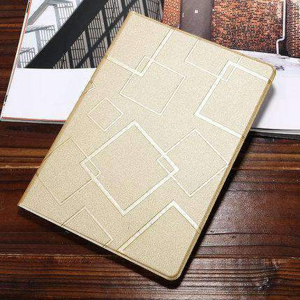 Contracted Square Pattern Apple iPad Cover Case gallery 3