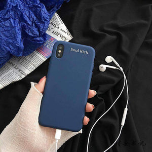 Soul Rich iPhone Case