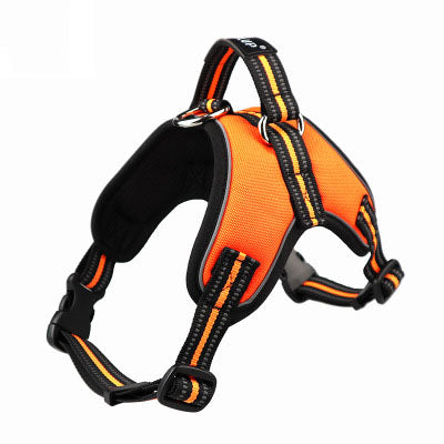 Reflective Vest Harness Dog Chest Strap