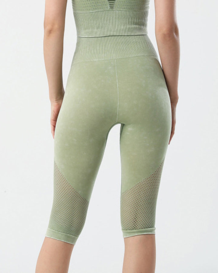 Fishnet Wide Waist Band Sports Shorts gallery 8