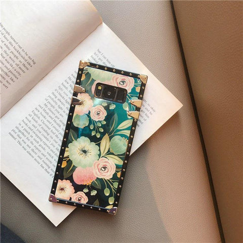 Floral Print Phone Case for Samsung with Phone Holder gallery 9
