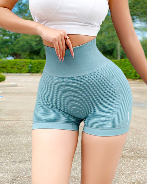 Wide Waistband Textured Sports Shorts gallery 14
