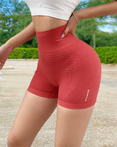 Wide Waistband Textured Sports Shorts gallery 11