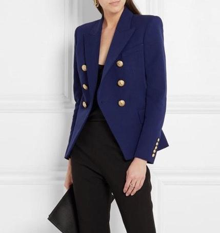 Blue Colors Double Breasted Blazer