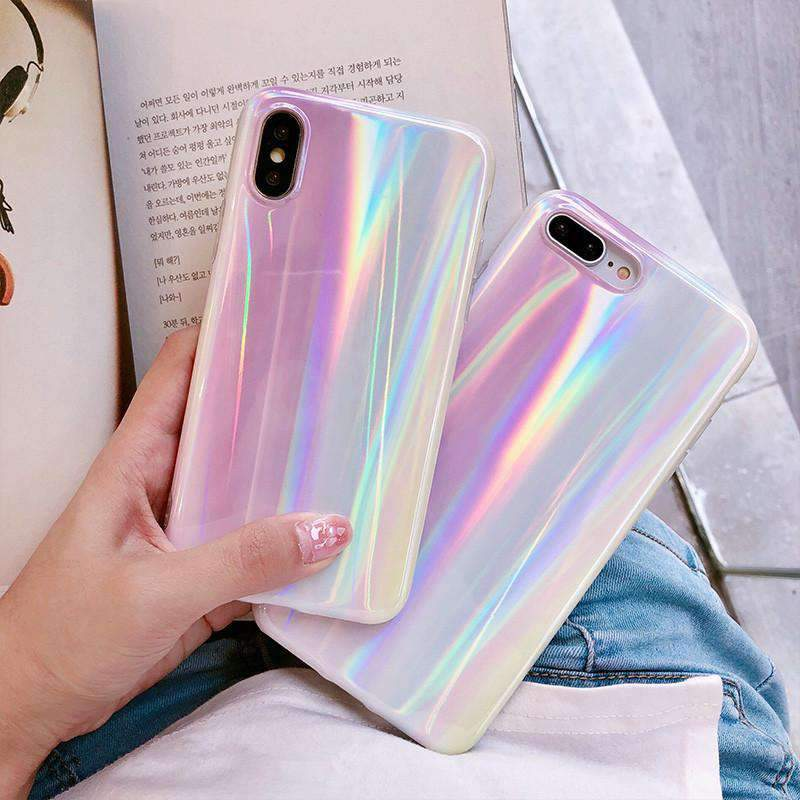 Laser Beam Reflective iPhone Case