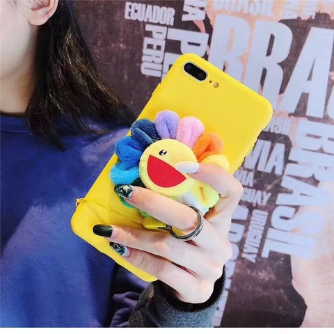 Yellow Laugh Sunflower Phone Case For Samsung gallery 3