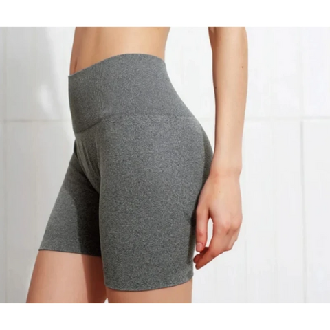 Flaming Deal - Beauty Contour Wide Waistband Sports Shorts gallery 13