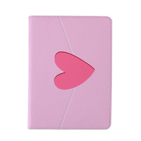 Heart Pattern with Tasseled Foldable iPad Cover Case gallery 4