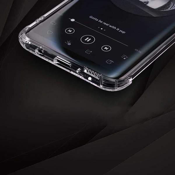 Anti-Fall Transparent Phone Case for Samsung gallery 7