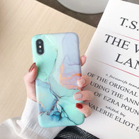 Literary Floral Pattern Phone Case for Apple iPhone