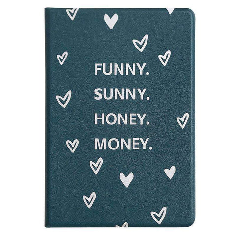 Contracted Letter Printed Heart Pattern Apple iPad Cover Case gallery 4