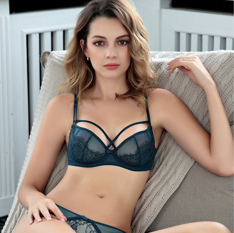 Sexy Push-up Lace Lingerie Set gallery 2