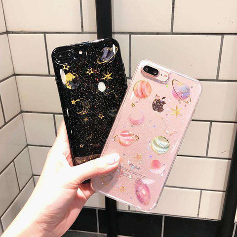 Silicone Star Phone Case for Samsung gallery 1
