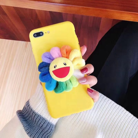 Yellow Laugh Sunflower Phone Case For Samsung gallery 5