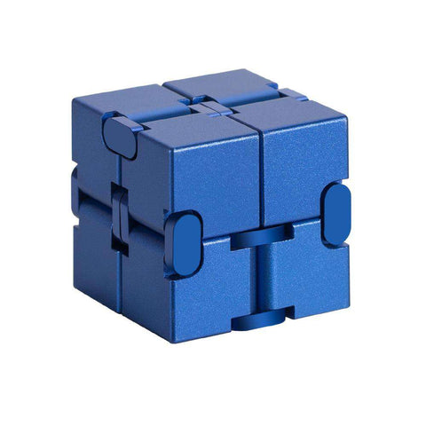 Pure Colored Decompression Fidget Infinity Cube gallery 1